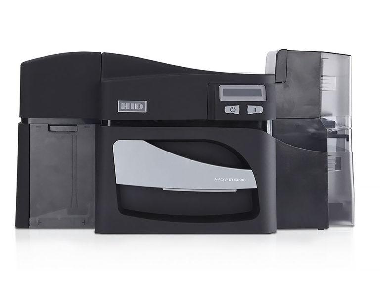 FARGO HID DTC4500 Kartendrucker - Frontansicht
